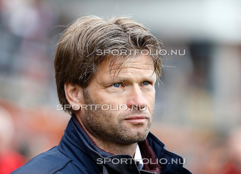 Nederland, Volendam, 31 mei 2015<br /> Playoffs om promotie/degradatie<br /> Seizoen 2014-2015<br /> FC Volendam-De Graafschap<br /> Jan Vreman, trainer-coach van De Graafschap.