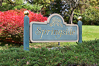 Springside estate of Matthew Vassar in Poughkeepsie, New York, USA