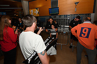 New Zealand Tall Blacks' Reuben Te Rangi, FIBA World Cup Basketball Qualifier - NZ Tall Blacks v Jordan at Horncastle Arena, Christchurch, New Zealand on Thursday 29 November  2018. <br /> Photo by Masanori Udagawa. <br /> www.photowellington.photoshelter.com