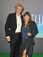 """Simon Farnaby and Claire Keelan at the 65th BFI London Film Festival """"The Phantom of the Open"""" world premiere, Royal Festival Hall, Belvedere Road, on Tuesday 12th October 2021, in London, England, UK. <br /> CAP/CAN<br /> ©CAN/Capital Pictures"""