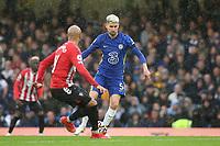 Jorginho of Chelsea in action during Chelsea vs Southampton, Premier League Football at Stamford Bridge on 2nd October 2021