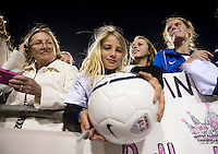 USWNT fans.  The USWNT defeated Scotland, 4-1, during a friendly at EverBank Field in Jacksonville, Florida.