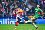 Santiago Arias of Atletico de Madrid (L) in action during the La Liga 2018-19 match between Atletico de Madrid and Deportivo Alaves at Wanda Metropolitano on December 08 2018 in Madrid, Spain. Photo by Diego Souto / Power Sport Images