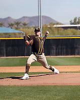 Adrian Morejon - San Diego Padres 2021 spring training (Bill Mitchell)
