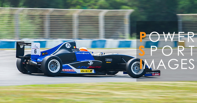 Alessio Picariello of Belgium and Absolute Racing drives during the Formula Masters China Series as part of the 2015 Pan Delta Super Racing Festival at Zhuhai International Circuit on September 18, 2015 in Zhuhai, China.  Photo by Moses Ng/ Power Sport Images