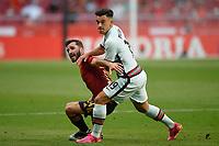 4th June 2021; Madrid, Spain International football friendly, Spain versus Portugal,  Jose Luis Gaya of Spain during the friendly match between Spain and Portugal played at Wanda Metropolitano Stadium