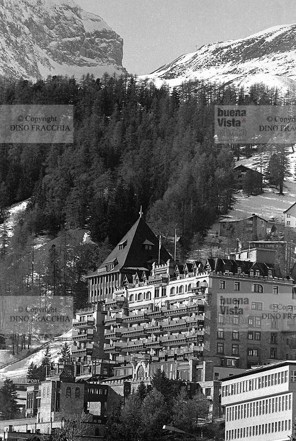 - Svizzera, Badrutt's Palace Hotel in St. Moritz<br /> <br /> - Switzerland, Badrutt's Palace Hotel in Saint Moritz