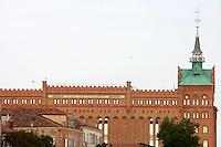 Una veduta dell'hotel Hilton Molino Stucky a Venezia<br /> View of the Hilton Molino Stucky hotel in Venice.<br /> UPDATE IMAGES PRESS/Riccardo De Luca