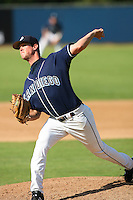 Feb 29 2008: Brian Matusz of the University of San Diego Toreros during game at the University of San Diego in San Diego,CA.  Photo by Larry Goren/Four Seam Images