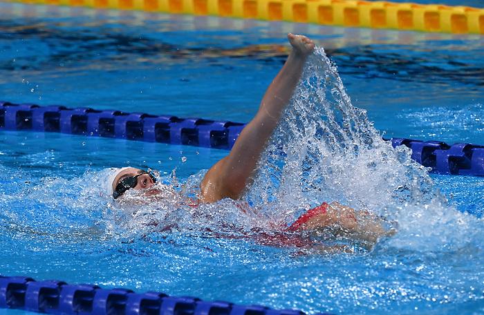 Aurelie Rivard, Tokyo 2020 - Para Swimming // Paranatation.<br /> Aurelie Rivard competes in the women's 200m IM - S10 // Aurelie Rivard participe au 200 m QNI femmes - S10. 09/03/2021.