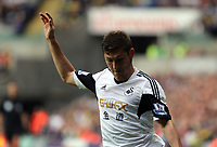 Saturday 28 September 2013<br /> Pictured: Ben Davies of Swansea <br /> Re: Barclay's Premier League, Swansea City FC v Arsenal at the Liberty Stadium, south Wales.