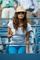 NEW YORK, NY - SEPTEMBER 7: Actress Eva Longoria attends the Women's singles semifinal match between Serena Williams of the United States (USA) and Sara Errani of Italy (ITA) on Day 12 of the 2012 U.S. Open Tennis Championships at the USTA Billie Jean King National Tennis Center in Flushing, Queens, New York, USA. September 7, 2012 © mpi105/MediaPunch Inc. /NortePhoto.com<br />