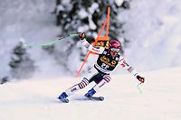 19th December 2020; Saslong, Val Gardena, Tyrol, Italy; International Ski Federation Alpine Ski World Cup, 2nd Men's Downhill, Val Gardena; Nils Allegre (FRA)