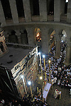 Israel, Jerusalem, the Latin Easter Sunday ceremony at the Church of the Holy Sepulchre