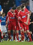 Steven Robb celebrates his goal for Brechin City