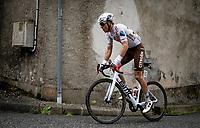 Benoît Cosnefroy (FRA/AG2R Citroen) up the Col de Portet-d'Aspet<br /> <br /> Stage 16 from El Pas de la Casa to Saint-Gaudens (169km)<br /> 108th Tour de France 2021 (2.UWT)<br /> <br /> ©kramon