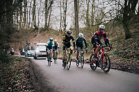 the day's breakaway<br /> <br /> 71th Kuurne-Brussel-Kuurne 2019 <br /> Kuurne to Kuurne (BEL): 201km<br /> <br /> ©kramon