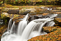 New River National Scenic River, West Virginia, Dunloup Creek ..