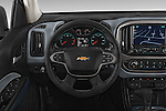 Car pictures of steering wheel view of a 2017 Chevrolet Colorado Z71 Crew Cab 4 Door Pick Up Steering Wheel