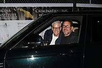LOS ANGELES - SEP 25:  John Stewart and Gregory Zarian at the Catalina Film Festival Drive Thru Red Carpet, Friday at the Scottish Rite Event Center on September 25, 2020 in Long Beach, CA