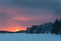 Europe/Finlande/Laponie/Levi: Lac Immeljärvi
