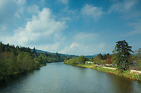 The River Dee at Ballater, Aberdeenshire