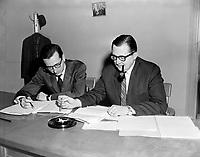 1964 11 FIN - BOURASSA et BELANGER - Economistes