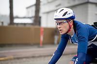 Niki Terpstra (NED/Total - Direct Energie)<br /> <br /> 75th Omloop Het Nieuwsblad 2020 (1.UWT)<br /> Gent to Ninove (BEL): 200km<br /> <br /> ©kramon