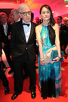 Woody Allen and his wife Soon-Yi Previn at the Opening Gala Dinner during The 69th Annual Cannes Film Festival on May 11, 2016 in Cannes, France.<br /> CAP/LAF<br /> ©Lafitte/Capital Pictures /MediaPunch ***NORTH AND SOUTH AMERICAN SALES ONLY***