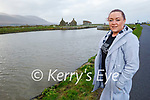 Cllr: Deirdre Ferris stands at the lock gates in Lohercannon where she is hoping to have a closed swimming pool installed