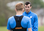 St Johnstone Training…16.05.17<br />Joe Shaughnessy talks with Liam Craig during training this morning ahead of tomorrows game against Hearts.<br />Picture by Graeme Hart.<br />Copyright Perthshire Picture Agency<br />Tel: 01738 623350  Mobile: 07990 594431