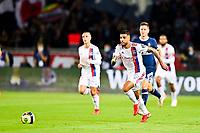 19th September 2021: Le Parc des Princes, Paris, France; French League 1 football Paris Saint Germain versus Olympique Lyonnais:  Emerson Palmieri OL