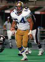 Doug Maciver Winnipeg Blue Bombers 1983. Photo F. Scott Grant