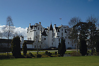 Blair Castle near Blair Atholl, Perthshire<br /> <br /> Copyright www.scottishhorizons.co.uk/Keith Fergus 2011 All Rights Reserved