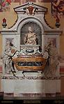 Monument to Galileo Galilei Foggini 1739 Santa Croce Florence