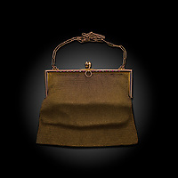 BNPS.co.uk (01202 558833)<br /> Pic: Cheffins/BNPS<br /> <br /> Pictured: The dance purse.<br /> <br /> A pair of purses owned by Princess Diana's grandmother are tipped to sell for £1,500.<br /> <br /> The two early 20th century mesh style dance purses belonged to Countess Spencer (1897-1992).<br /> <br /> One is made of 9ct gold and chain maille, while the other is of gilt metal in a similar style.