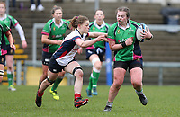 Tuesday 3rd April 2018 | Malone Women vs Ballynahinch Women<br /> <br /> Sandra Anderson during the Easter Tuesday Ulster Womens final between Malone and Ballynahinch at Kingspan Stadium, Ravenhill Park, Belfast, Northern Ireland. Photo by John Dickson / DICKSONDIGITAL