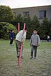 Boy On Stilts