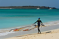 Praia de Carlota, Boa Vista, Kapverden, Afrika