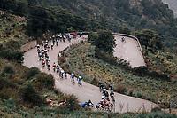 Michael Gogl (AUT/Trek-Segafredo) crashes in the descent of the slippery Coll de Soller<br /> <br /> Trofeo Lloseta - Andratx: 140km<br /> 27th Challenge Ciclista Mallorca 2018