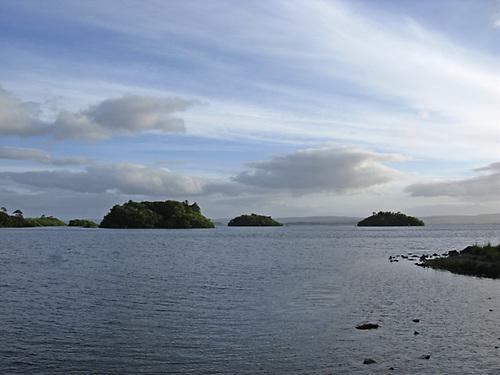 Lough Corrib in Co Galway