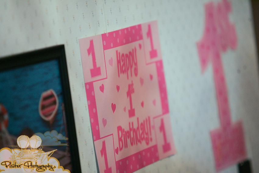 Jaina Perry celebrates her first birthday Saturday, January 3, 2009, at the Perry home in DeLand. Travis Perry and Julie Perry put on a birthday party for their one-year-old daughter Jaina. (Chad Pilster, PilsterPhotography.net)
