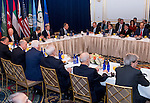 Syrian peace Meeting, New York Palace,