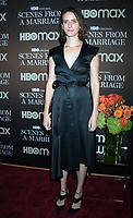 NEW YORK, NY- October 10: Amy Herzog at the HBOMAX premiere of Scenes From A Marriage at the Museum of Modern Art Titus Theatre in New York City on October 10, 2021 <br /> CAP/MPI/RW<br /> ©RW/MPI/Capital Pictures