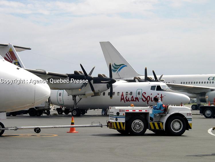 Cebu, Philippines, 2004 file Photo - Cebu Pacific plane on the tarmac