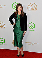 SANTA MONICA, USA. January 18, 2020: Margaret Riley at the 2020 Producers Guild Awards at the Hollywood Palladium.<br /> Picture: Paul Smith/Featureflash