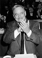 Montreal (Qc) CANADA, November 1994 File Photo  -<br /> Parti Quebecois (PQ) Leader Jacques Parizeau .<br /> <br /> Photo by Pierre Roussel / Images Distribution