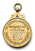 FA Cup winner's medal of one of the celebrated 'Busby Babes'