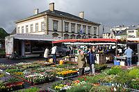 Markt auf der Place Guillaume II, Stadt Luxemburg, Luxemburg