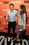 James Franco and Isabel Pakzad attend the Opening Night Performance of 'Straight White Men' at the Hayes Theatre on July 23, 2018 in New York City.